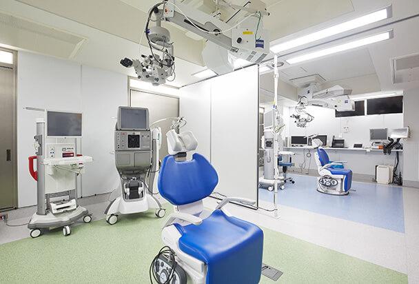 レーザー白内障手術対応