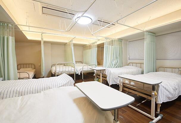 入院施設完備
